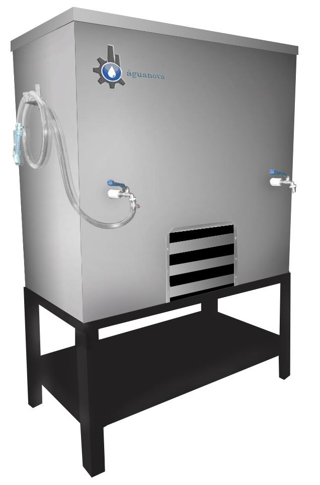 Resfriador/Dosador de água para panificação